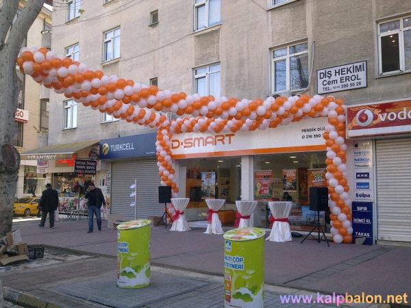 Anadolu Yakası Balon Süsleme